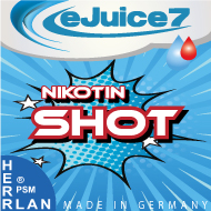 eJuice7 Nikotin Basen & Shots