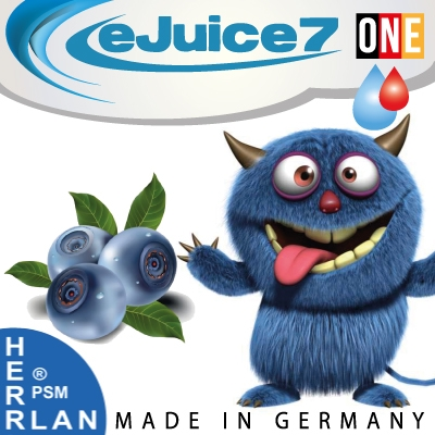 Blaubeer v. Heidel eJuice7 ONE eLiquid 10ml