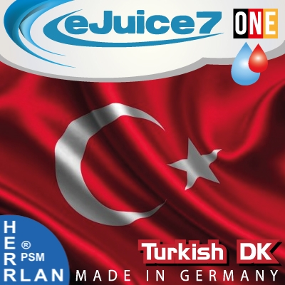 Turkish Tobacco DK eJuice7 ONE eLiquid 10ml
