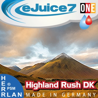 Highland Rush DKeJuice7 ONE eLiquid 10ml