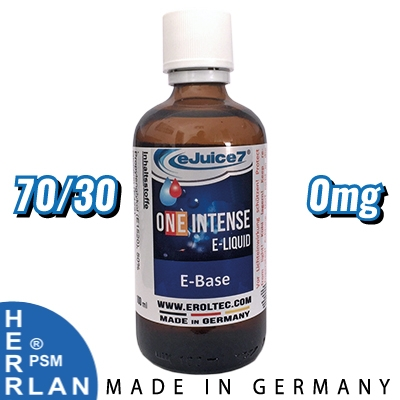 100ml eJuice7 ONE Base 70/30 0mg