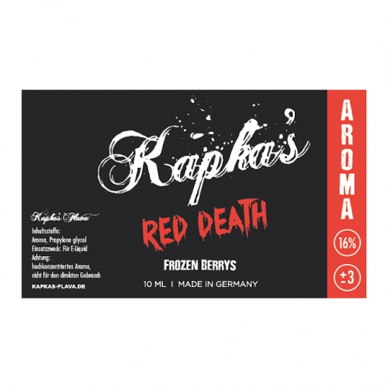 Red Death Kapkas Aroma 10ml