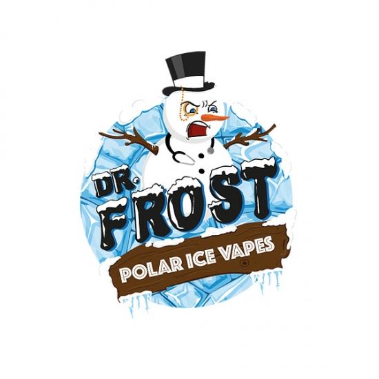 Blaue Himbeere Milchshake - Dr. Frost 100ml