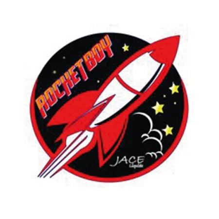 Lunar Lemon - Rocket Boy Shaken Vape 100ml