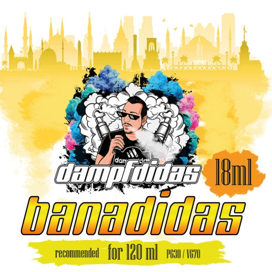 Bananidas - Dampfdidas Aroma 18ml
