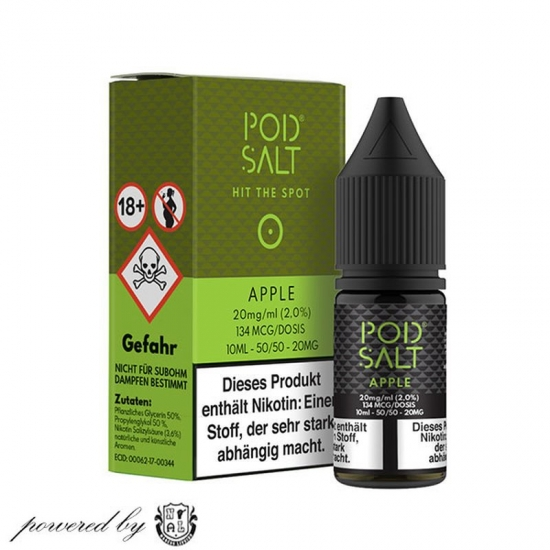 Apple Pod Salt Liquid 10ml