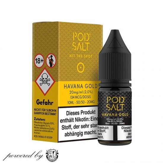 Havanna Gold Pod Salt Liquid 10ml