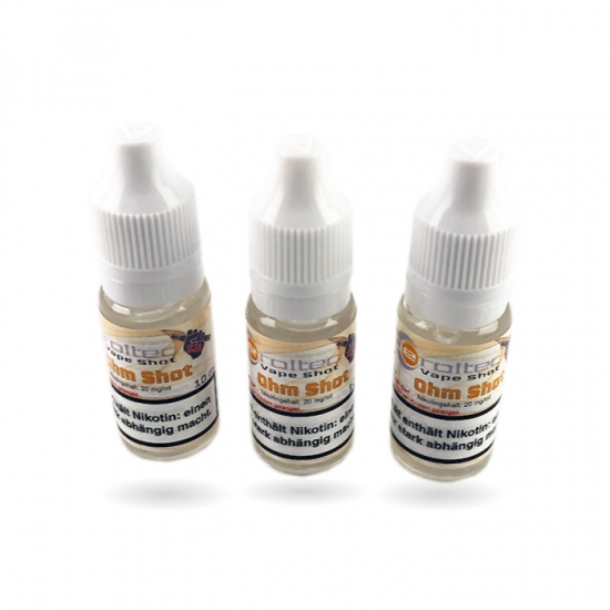 10ml eroltec Ohm Base Nikotin Shot 20mg/ml