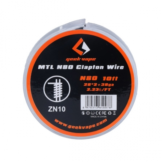MTL N80 Clapton Heizdraht - 3 Meter