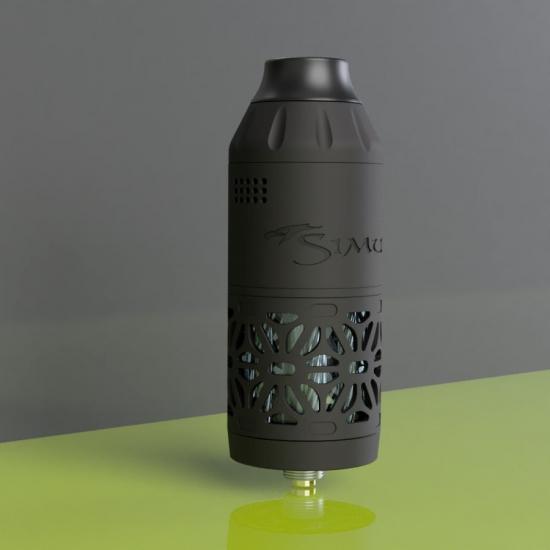 Simurg Tank Shield Kumiko PVD Black