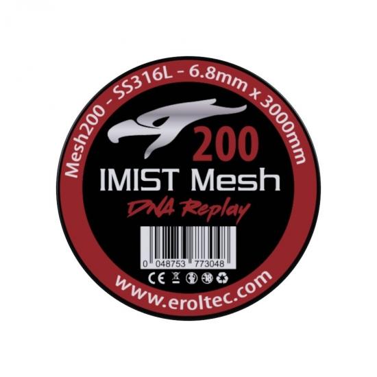 IMIST Premium Mesh 200 SS316L V4A - 6,8x3000mm