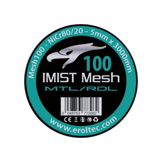 IMIST Premium Mesh 100 NiCr80/20 - 5x3000mm