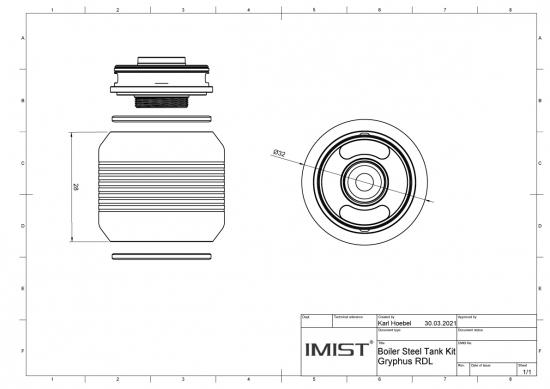 Gryphus Boiler Steel Tank Kit