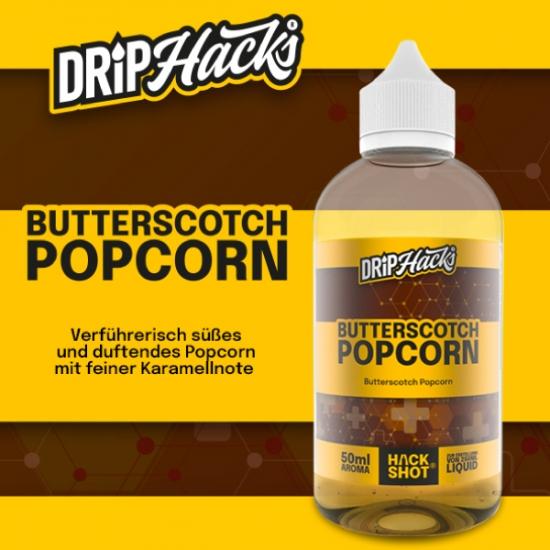 Butterscotch Popcorn - Drip Hacks Aroma 50ml