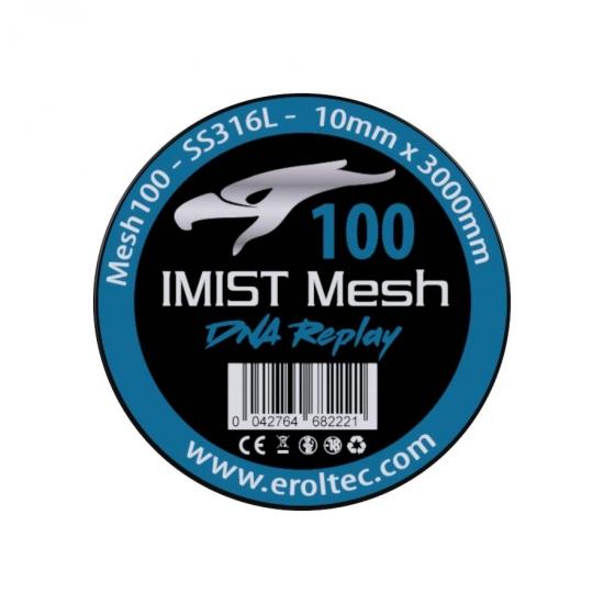 IMIST Premium Mesh 100 SS316L V4A - 10x3000mm