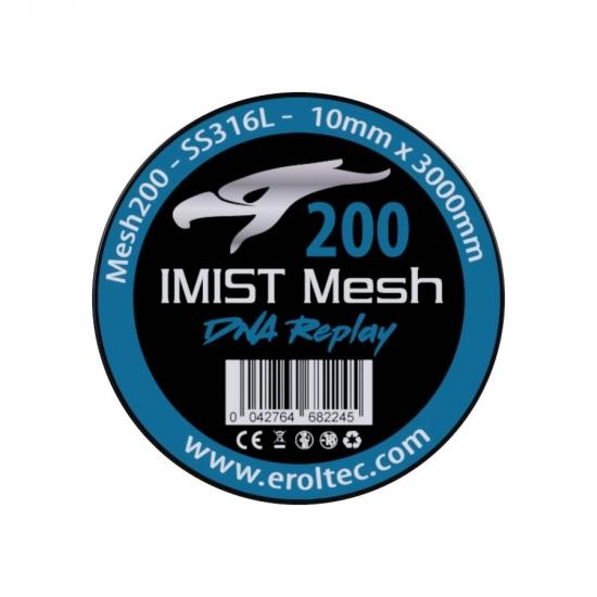 IMIST Premium Mesh 200 SS316L V4A - 10x3000mm