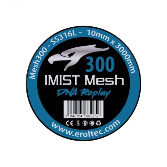 IMIST Premium Mesh 300 SS316L V4A - 10x3000mm
