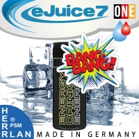 """EnergyBANG """"eJuice7 ONE"""" eLiquid 10ml"""