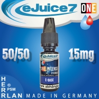 "10ml eJuice7 ONE Base 50/50 ""15mg"""