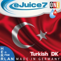 "Turkish Tobacco DK ""eJuice7 ONE"" eLiquid 10ml"