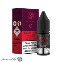 "Mixed Berries ""Pod Salt Liquid"" 10ml"