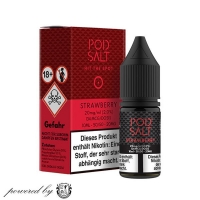 "Strawberry ""Pod Salt Liquid"" 10ml"