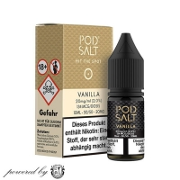 "Vanilla ""Pod Salt Liquid"" 10ml"