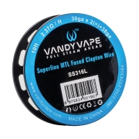 VandyVape Superf MTL Fused Clapton Wire SS316 3m