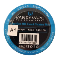 VandyVape Superfine MTL A1 Fused Clapton Wire 3m