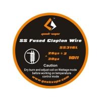 SS Fused Clapton Heizdraht - 3 Meter