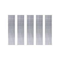 5x Meshstreifen 100 Edelstahl DL - 6,8x22mm