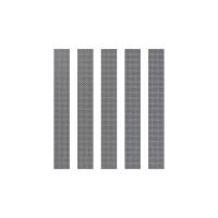 5x Meshstreifen 150 Edelstahl DL